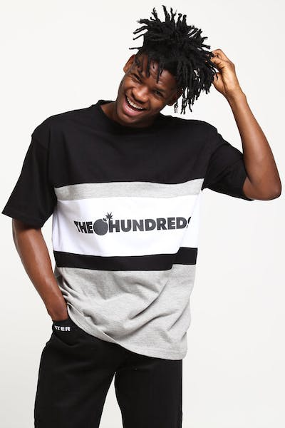 The Hundreds Club Knit Tee Emerald Grey