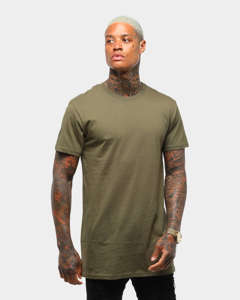 AS Colour Tall Tee Army Green/brow