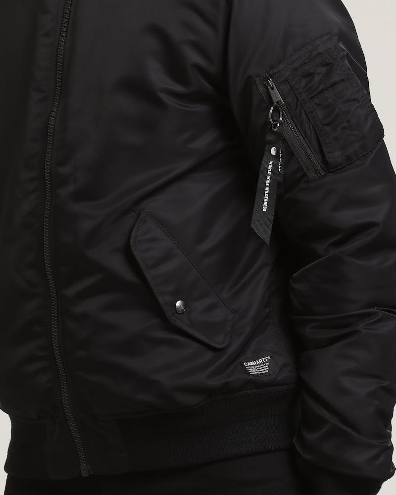 Ashton Bomber Jacket Black