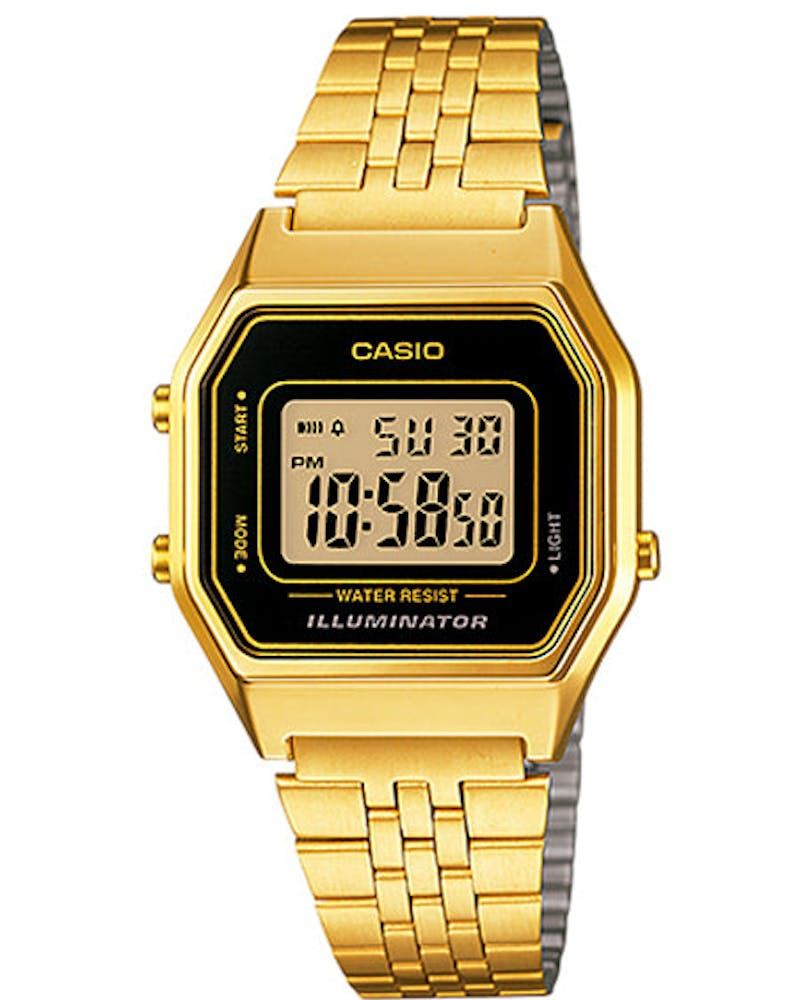 La680wga Ladies Digital Gold/black