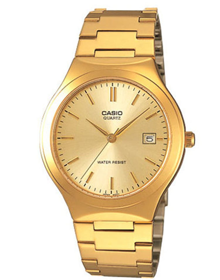 Gents Analog WR Gold