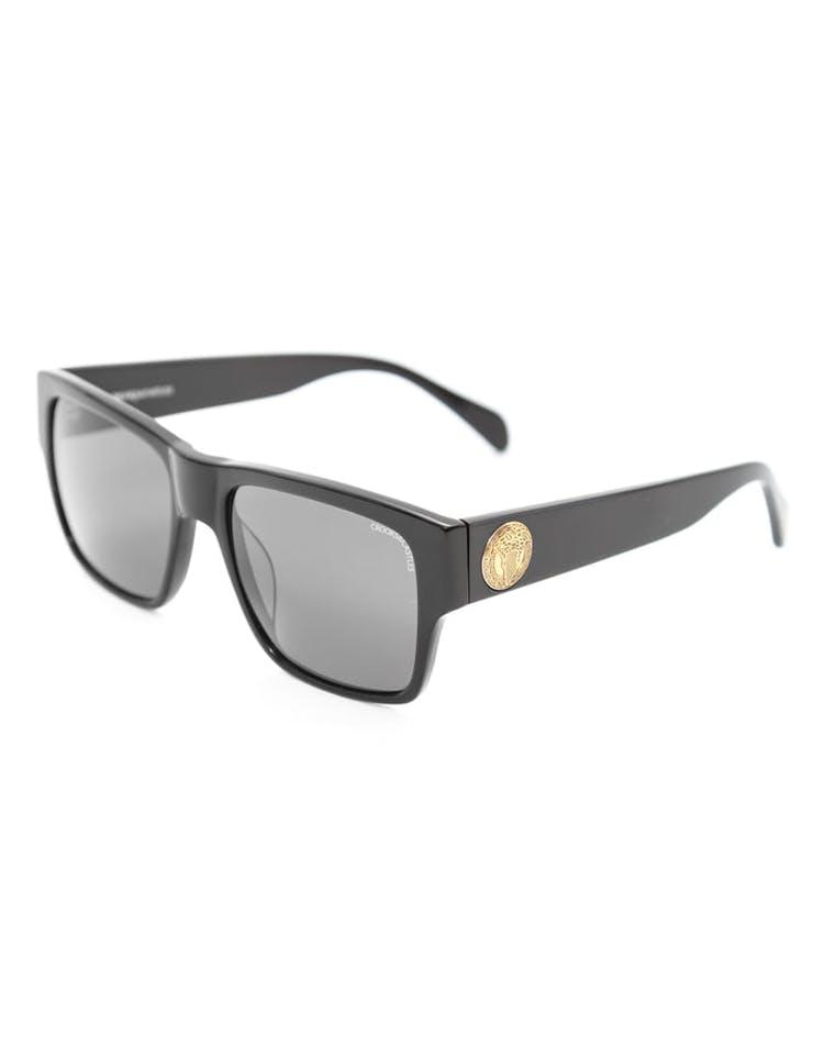 0c02a87b14378 Crooks   Castles Violento Sunglasses Black – Culture Kings NZ