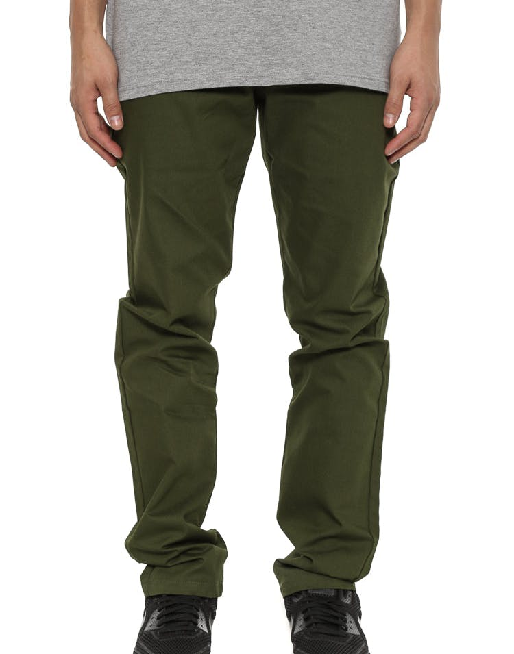 Trustworthy Chino Pant Khaki Green