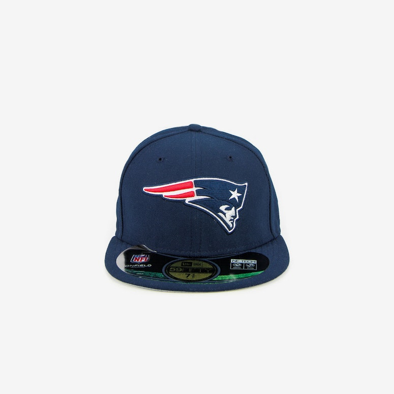 New Era New England Patriots Onfield Fitted Navy