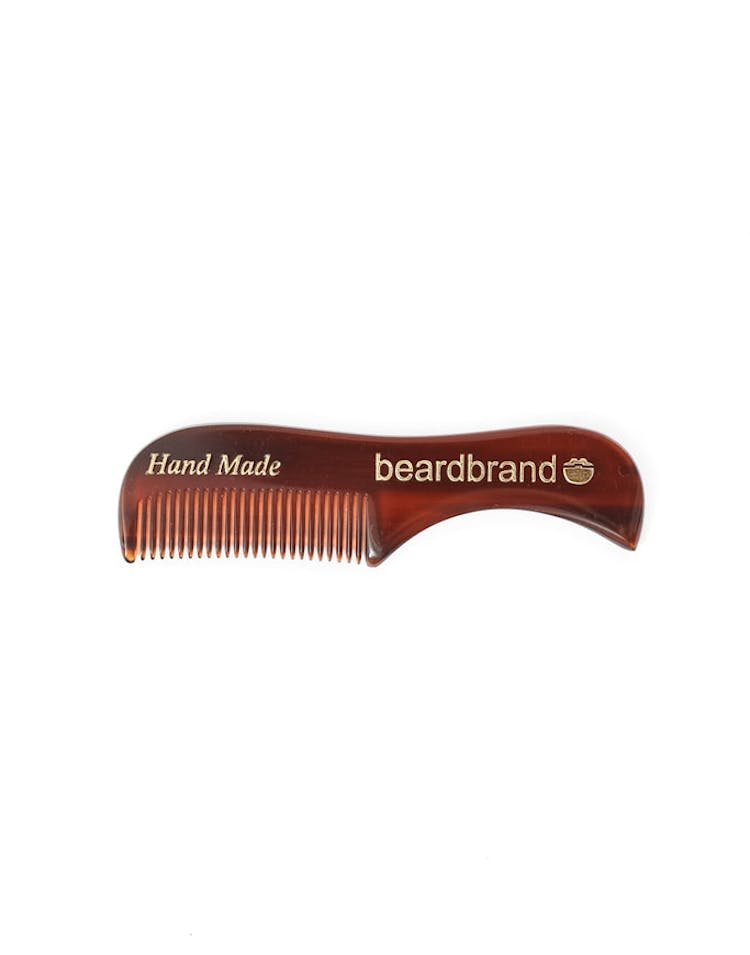 Beard Brand Comb Brown