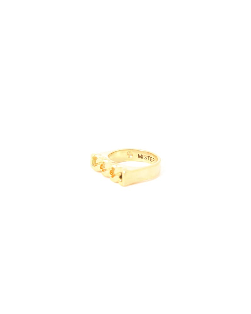 MR Curb Ring Gold