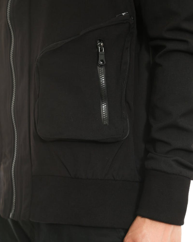 Sweeper Jacket Black