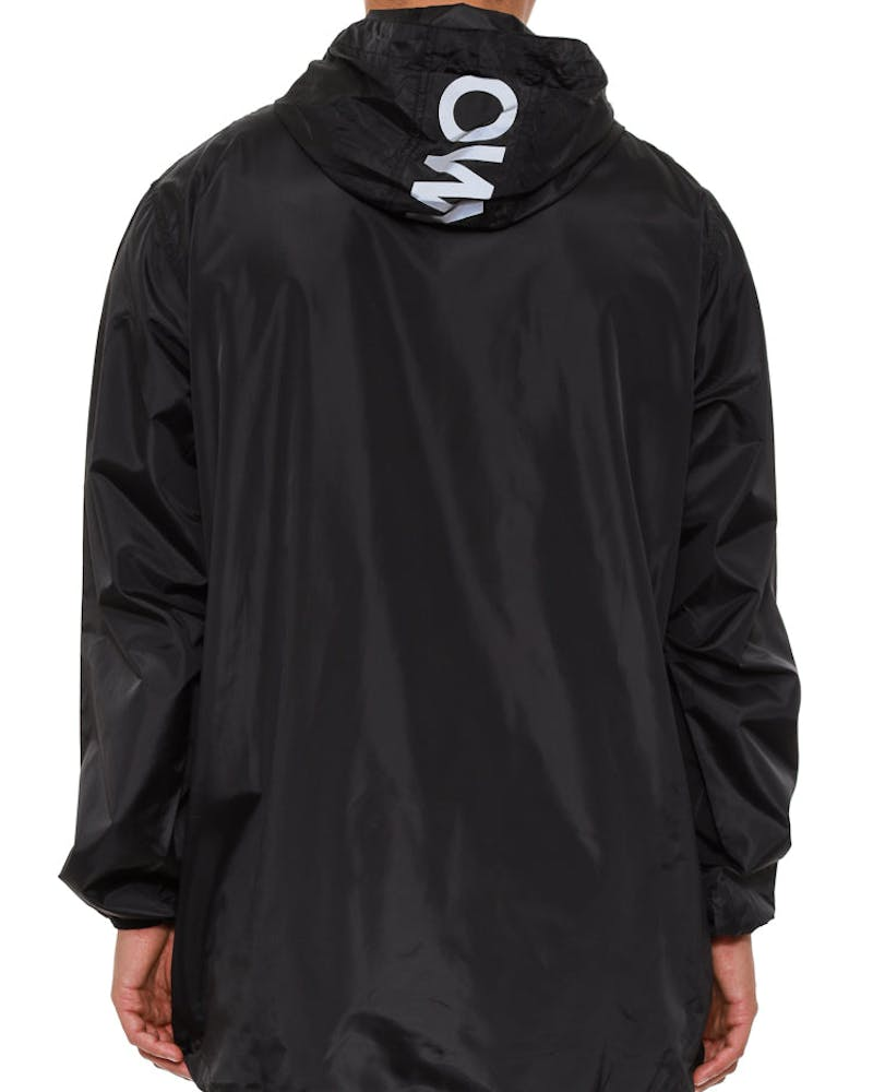 Anorak Training Jacket Black