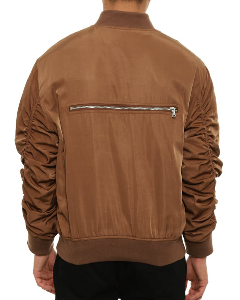 Bird Bomber Jacket Tobacco