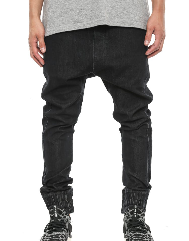 Fake Jean 2 Black Wash