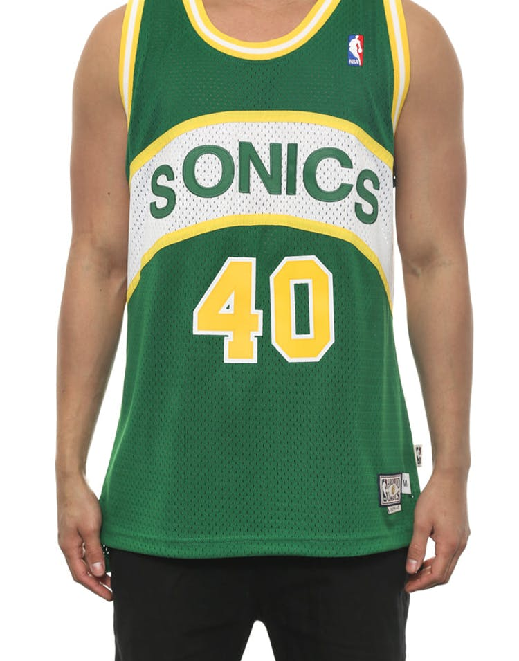 Supersonics 40 Kemp Hwc Green/white