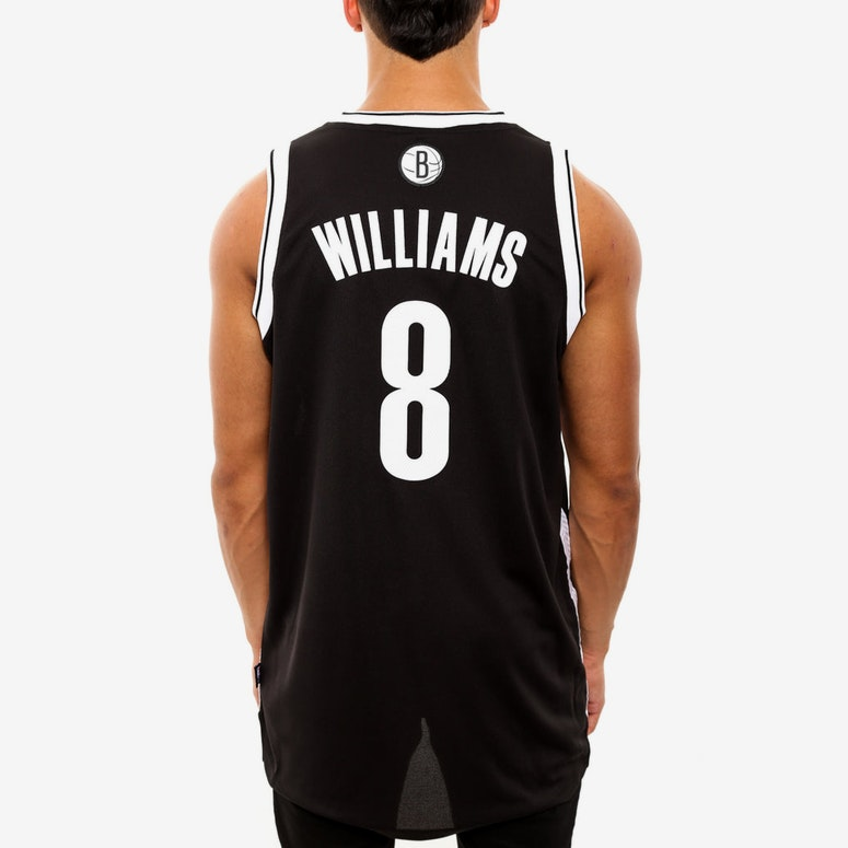 Brooklyn Nets 8 Revolution 30 Jersey Black
