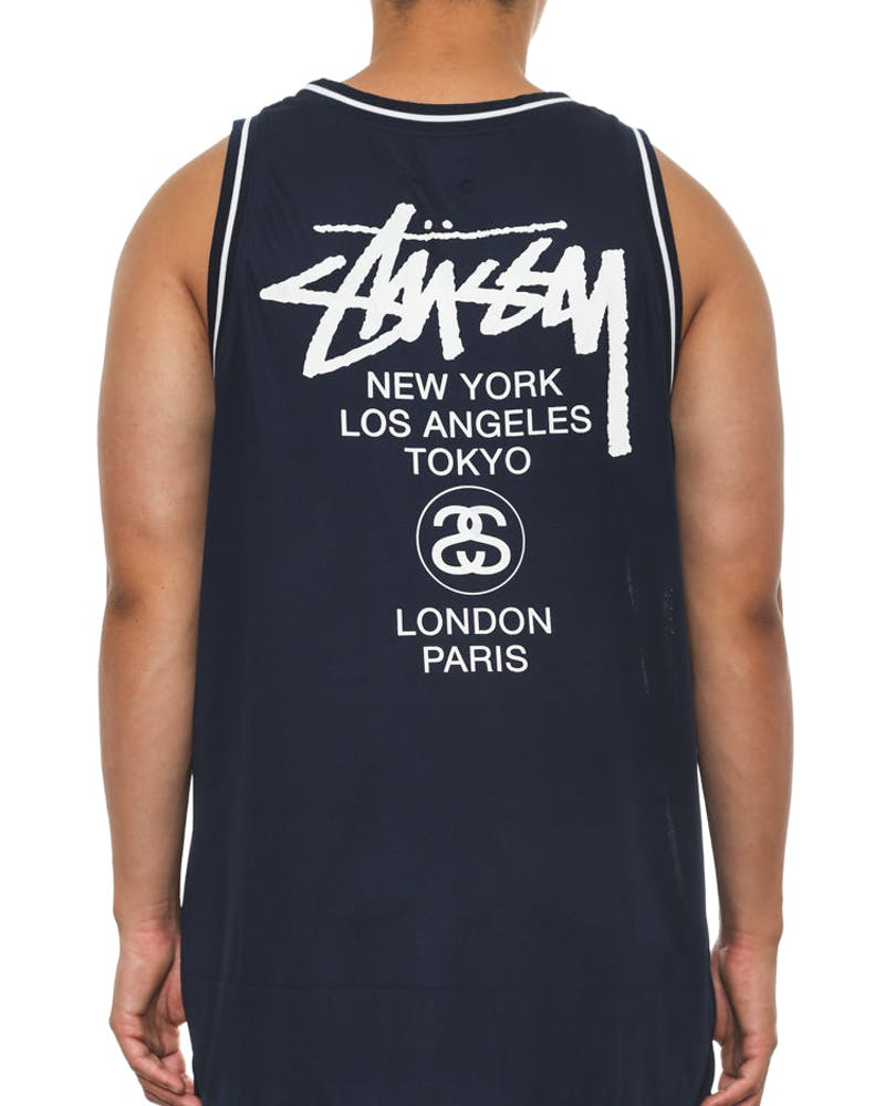 Cities Baller Tank Navy