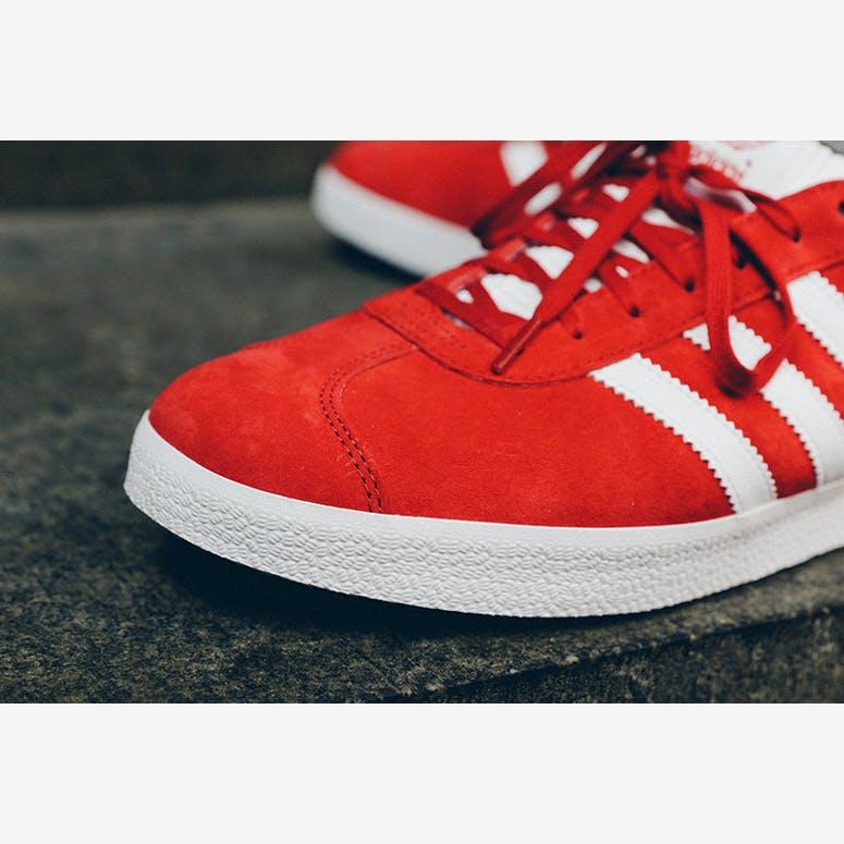 100% authentic ce42e 54968 Gazelle Redwhite. Adidas Originals ...