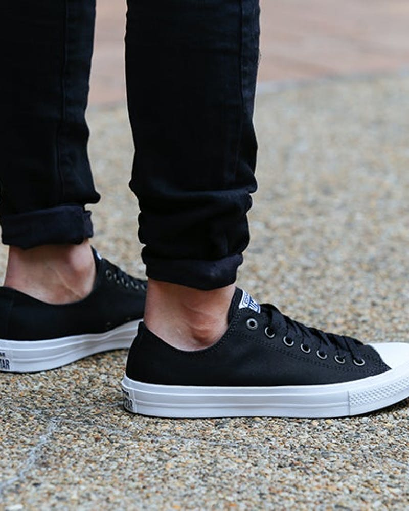 Chuck Taylor All Star II OX Black/white
