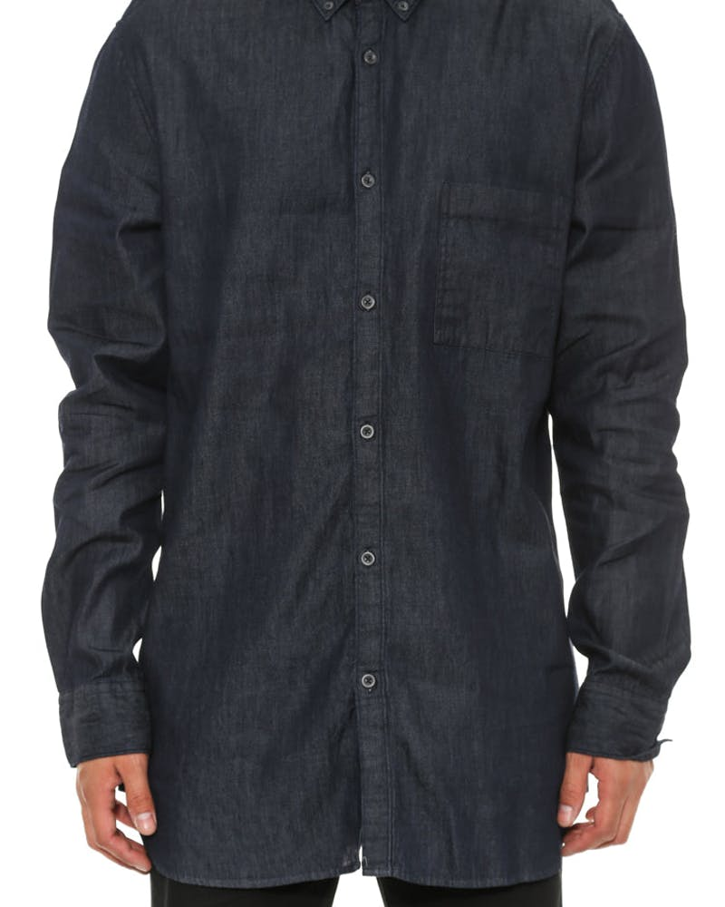 Oxford 7ft Long Sleeve Indigo