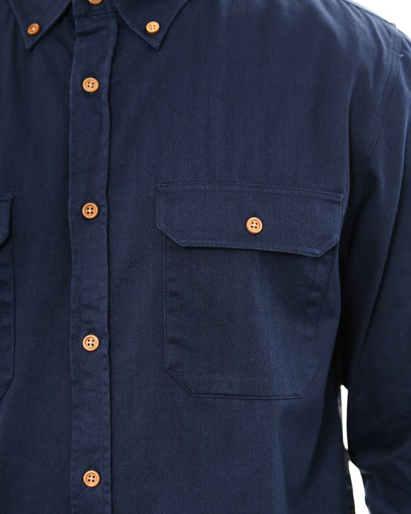 Presley Button up Navy