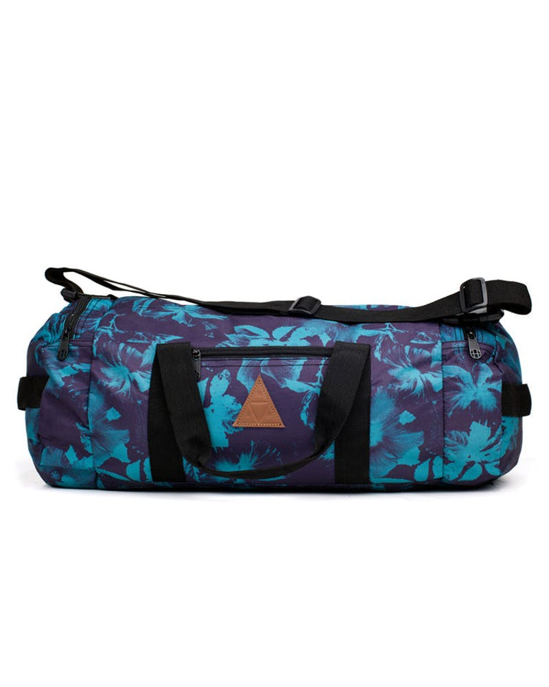 Floral Duffle Bag Navy