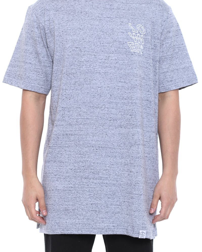 Wavy Layer Tee Grey