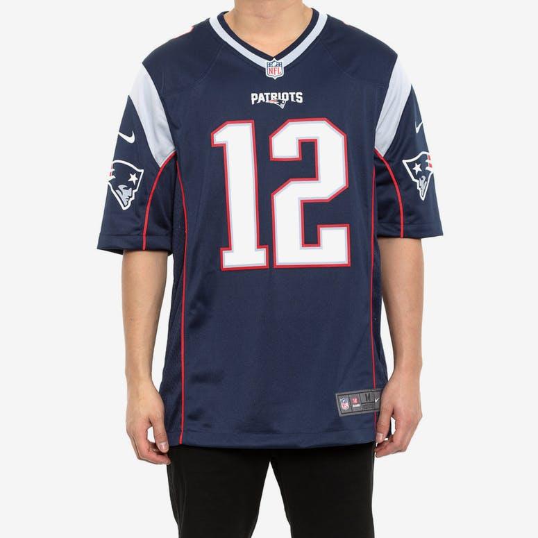 Nike Patriots 12 Brady Nfl Jersey Navy – Culture Kings NZ 42d8ce06e