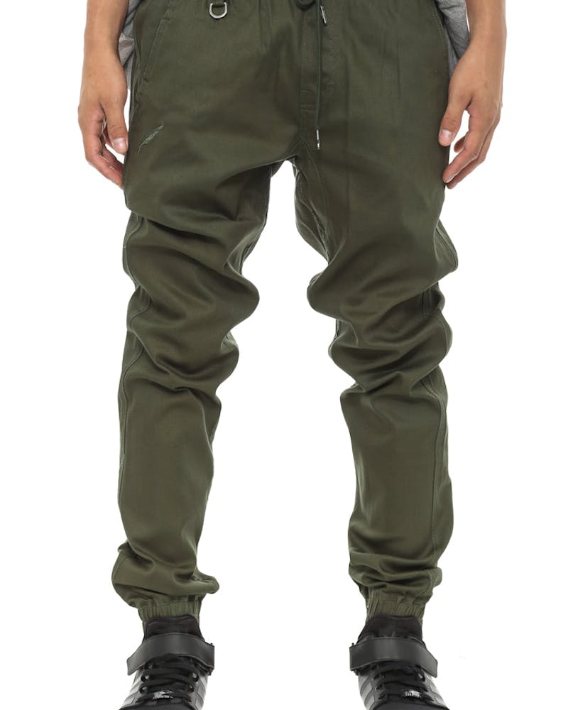 Sprinter Jogger Pant Olive/brown