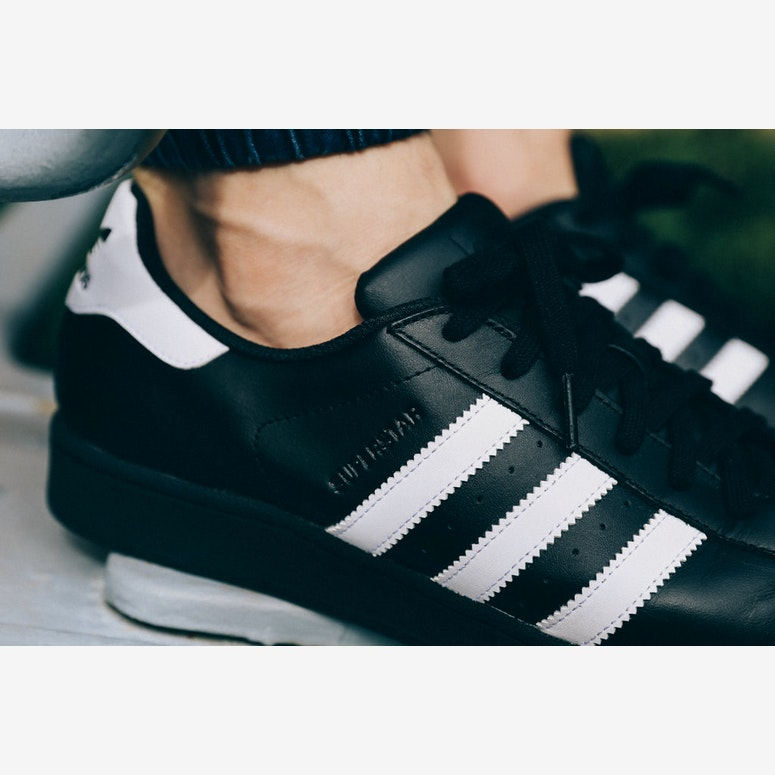 Superstar Foundation Shoe Black/white