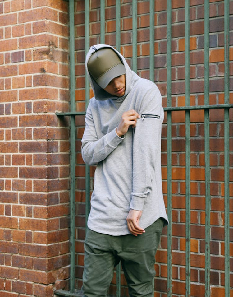 Coven 2 Hoody Grey Heather