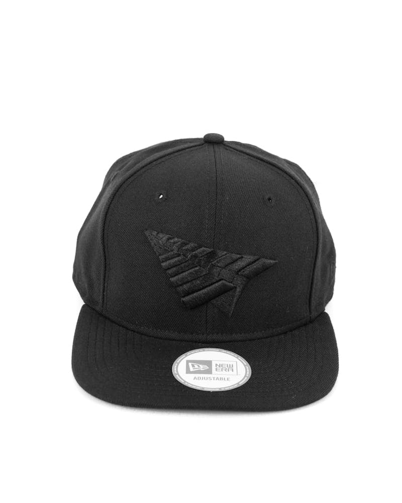 Old School Snapback Black/black