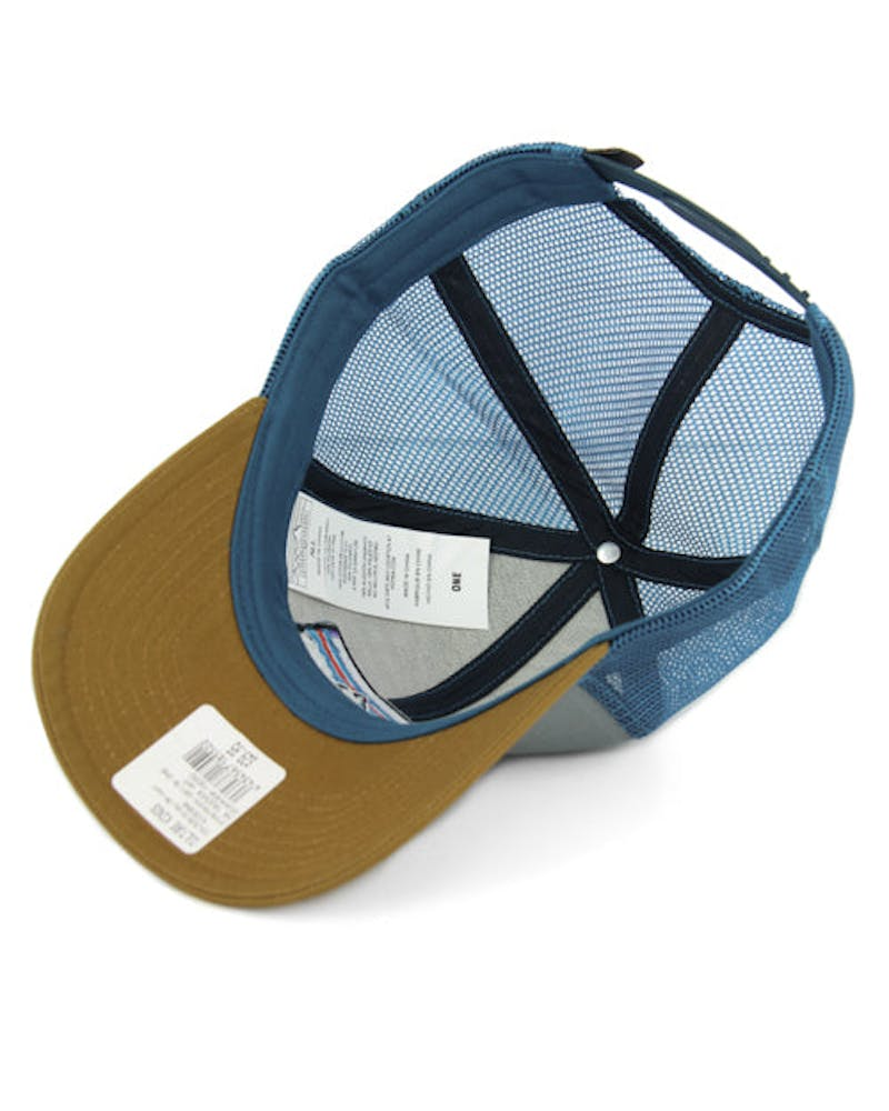 P6 Trucker Hat Grey/brown