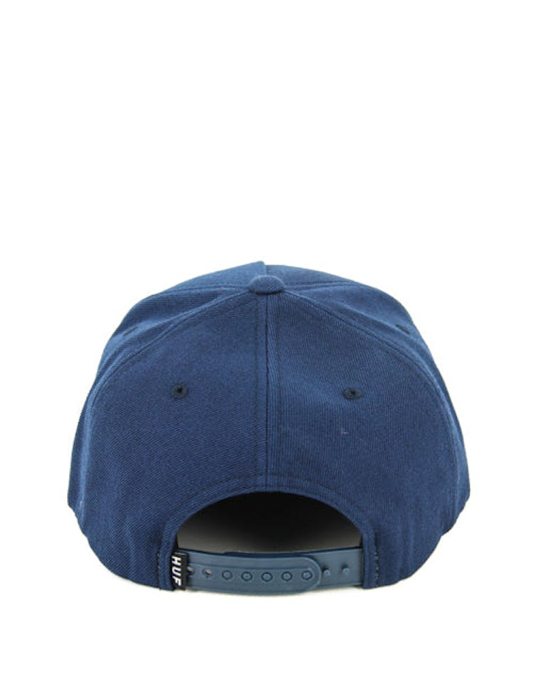 Box Logo 16 Snapback Navy