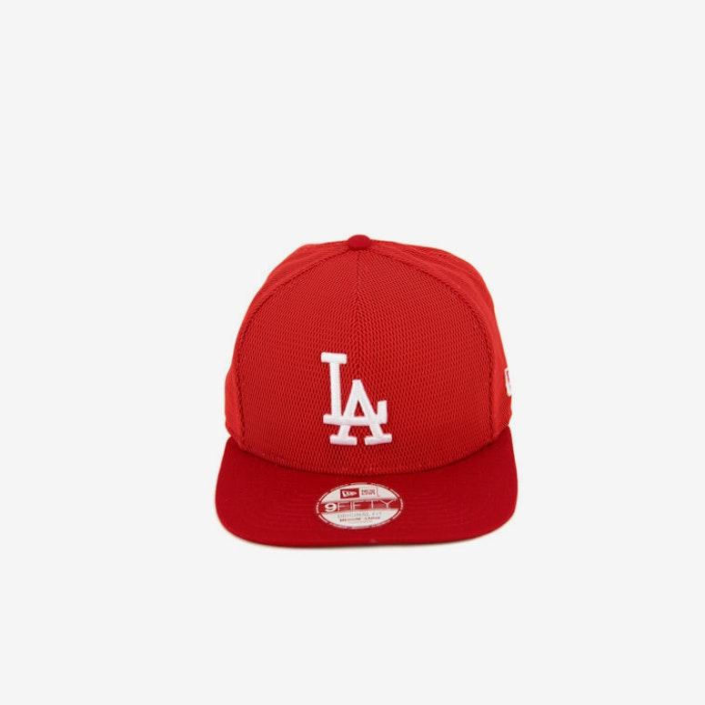 New Era Dodgers Mesh Overlay of Snapback Scarlet white – Culture ... cb1f4905c6b5