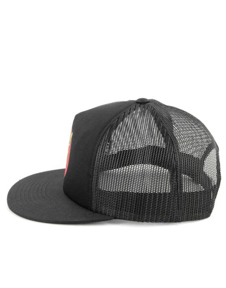 0aef1f601 Classic Dot Trucker Hat Black/black