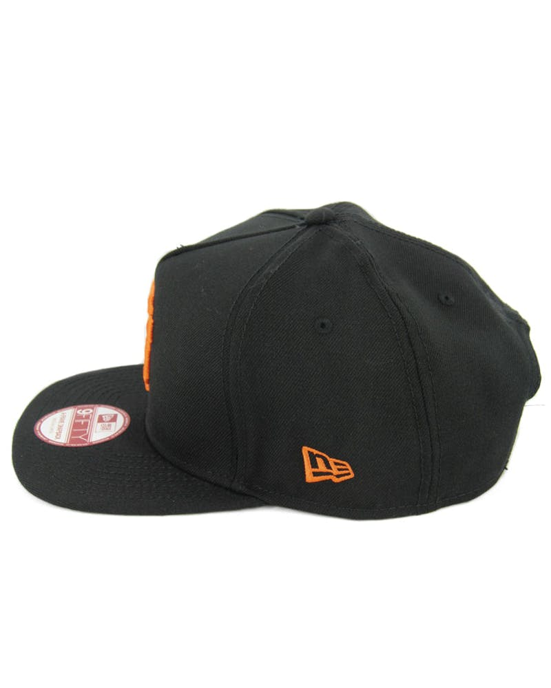 New Era Giants CK 940 A-Frame Snapback Black/Orange