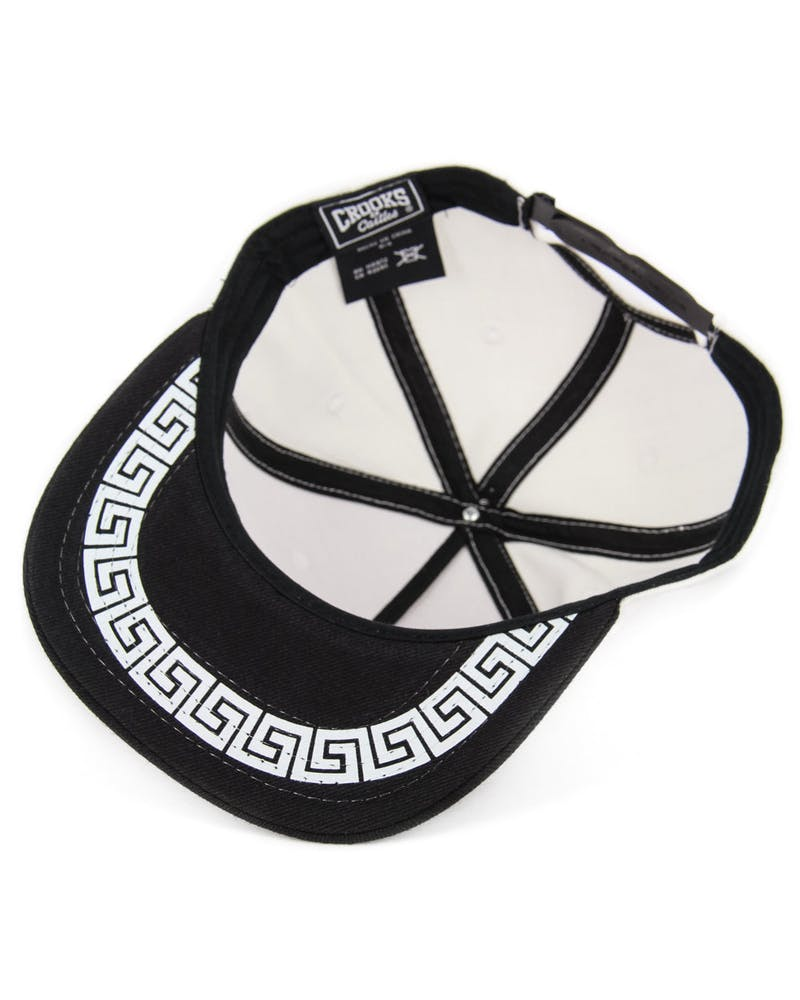 Defaced Bandito Snapback White/black