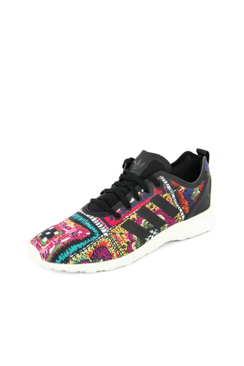 Adidas originali donne zx flusso avanzata regolare multi / bianco / nera