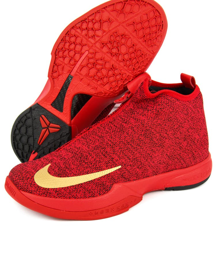 low priced 18ff2 14595 Zoom Kobe Icon Red gold black