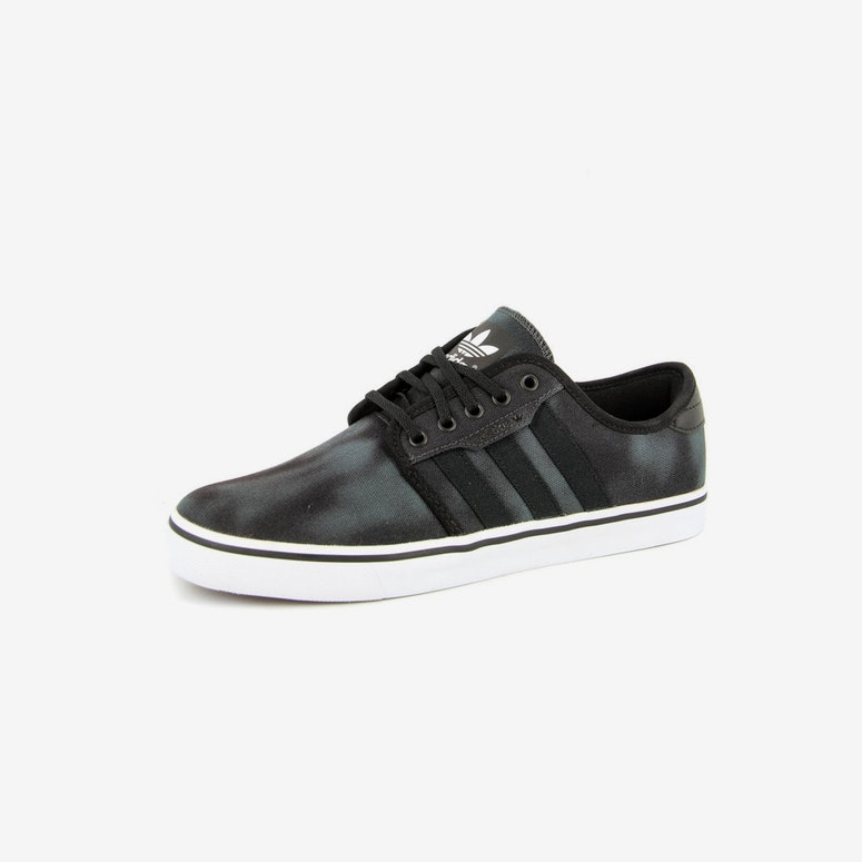 Seeley Boat Shoe 2 Black/white