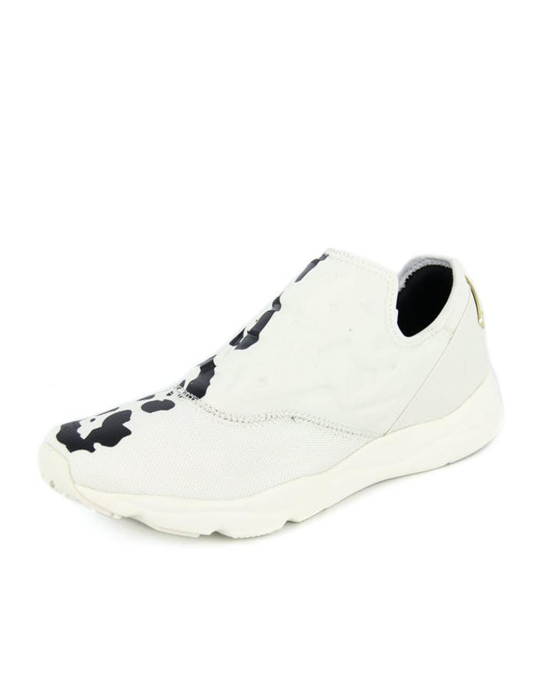 Women's Slip On Leo White/black