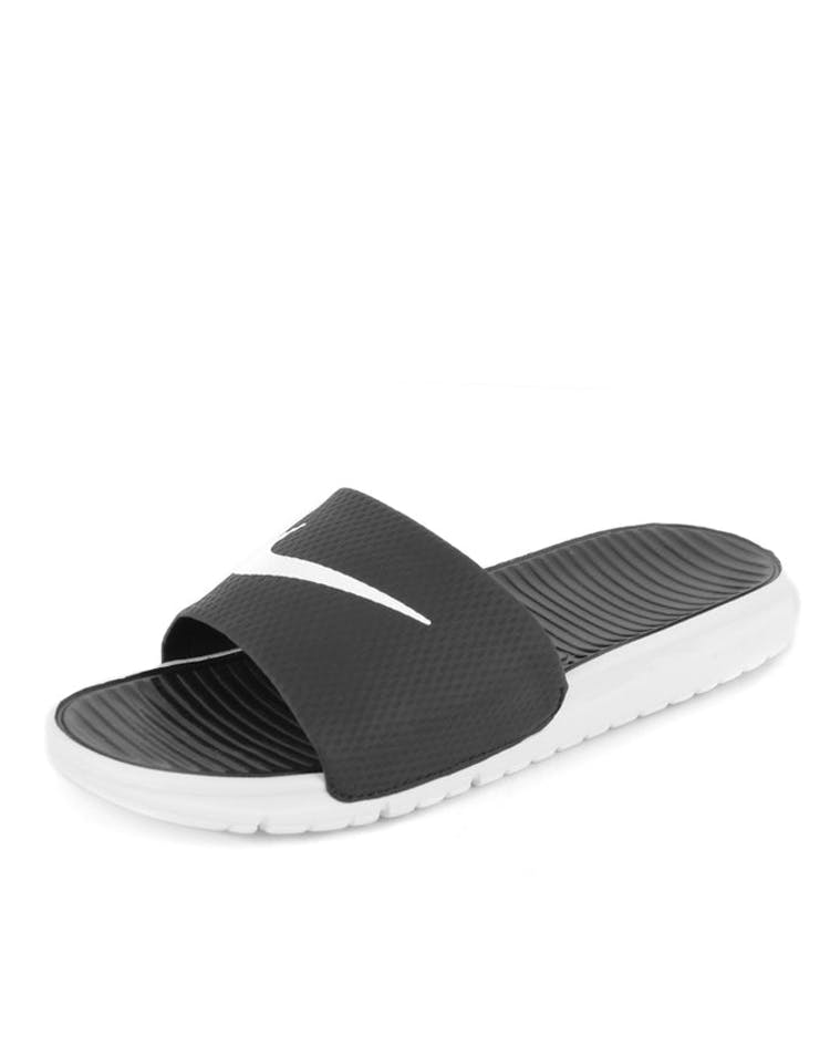 3a628db37 Nike Benassi Solarsoft Slides Black white – Culture Kings NZ