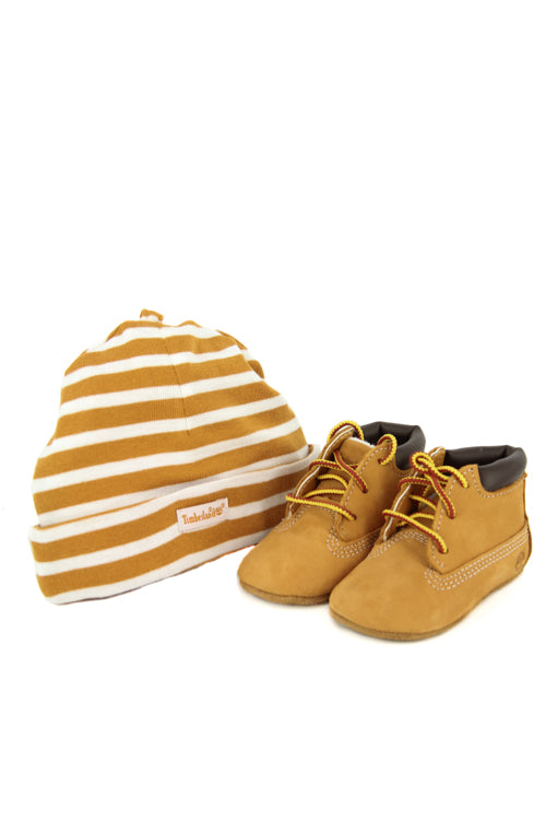 Timberland Crib Bootie Wheat - Culture Kings NZ