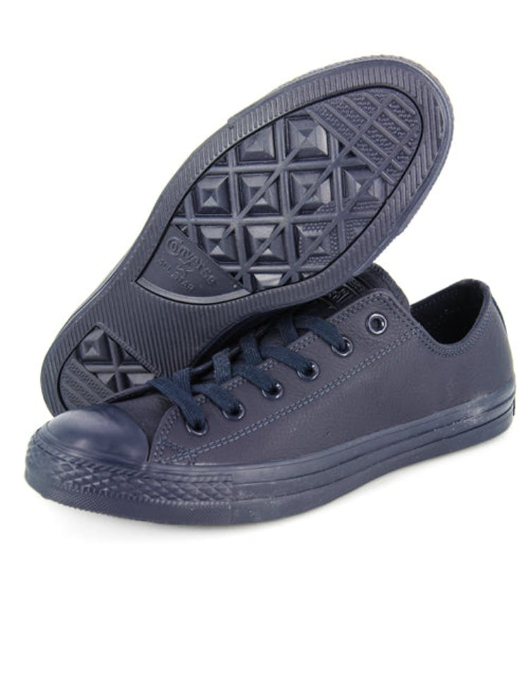 Chuck Taylor Mono Leather Low Navy
