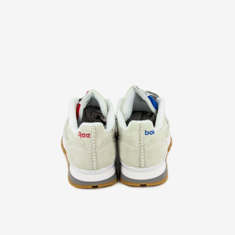 a7b84101d2e Reebok CL Leather KL Grey white gum – Culture Kings NZ