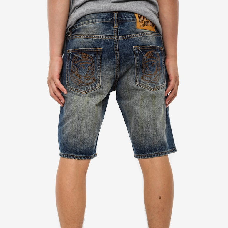 Bbc Denim Shorts Blue