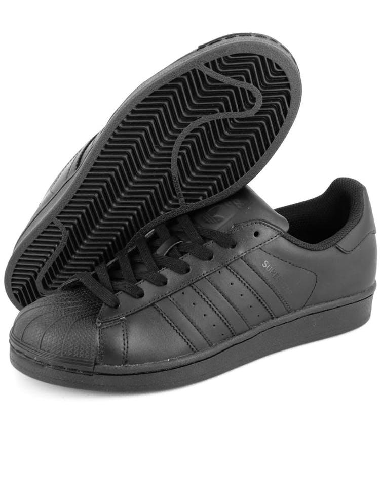 finest selection 4b39f 01b5a Superstar Foundation Shoe Black black bla