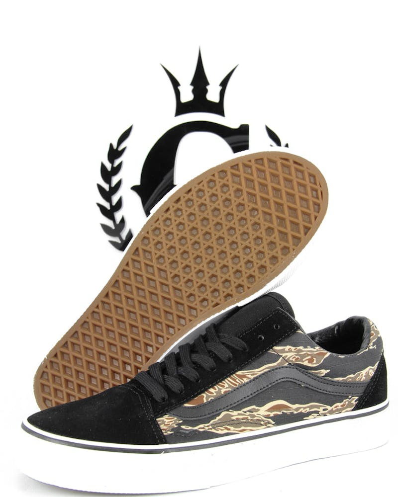 Vans Old Skool Trainers 2 Black/camo