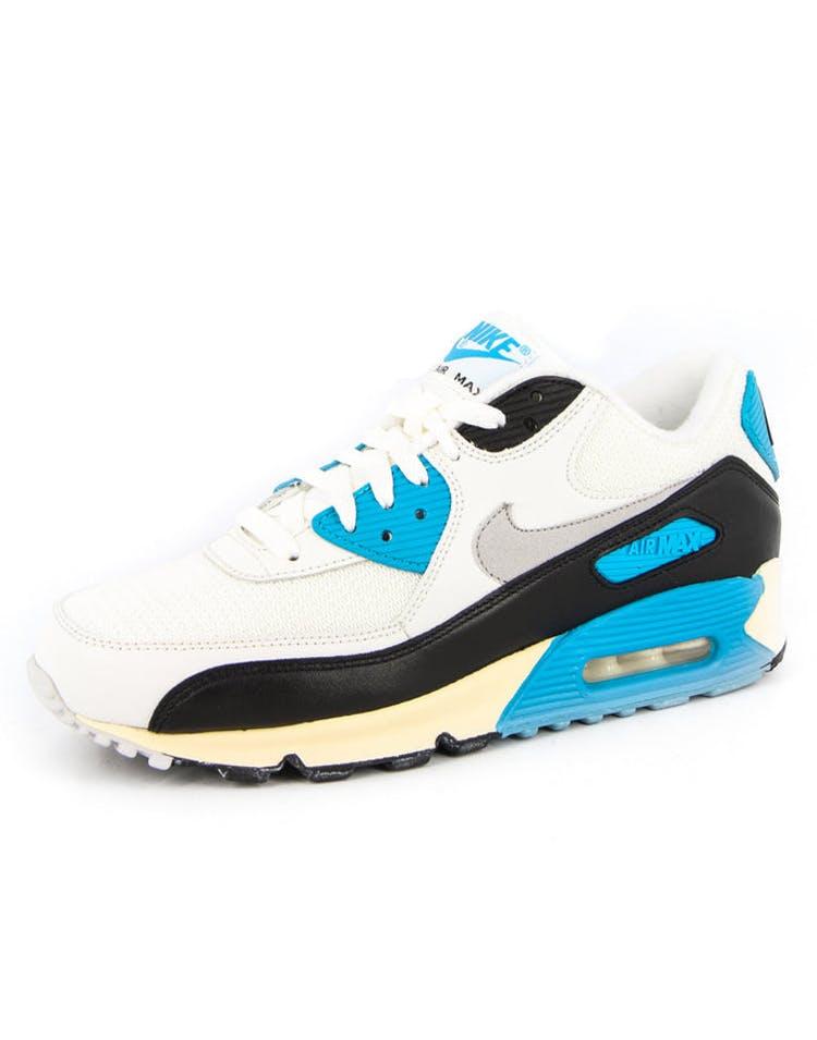 sale retailer b268f 480aa Airmax 90 Original White grey blue
