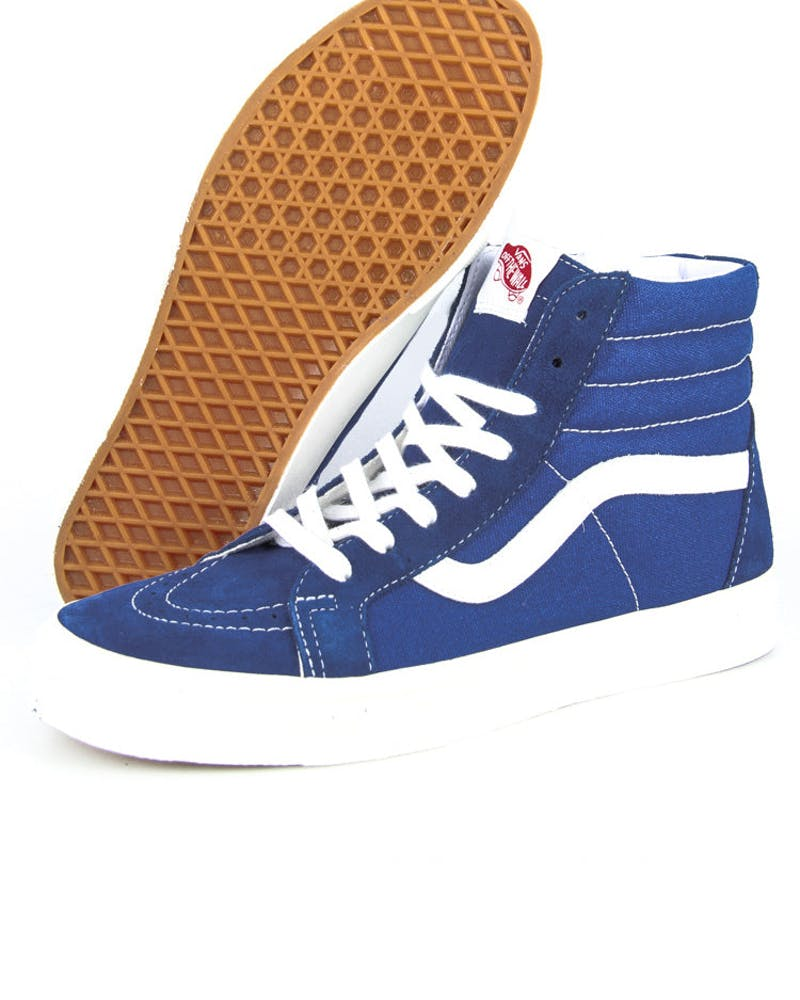 Sk8 HI Top Vintage Royal/blue/whit