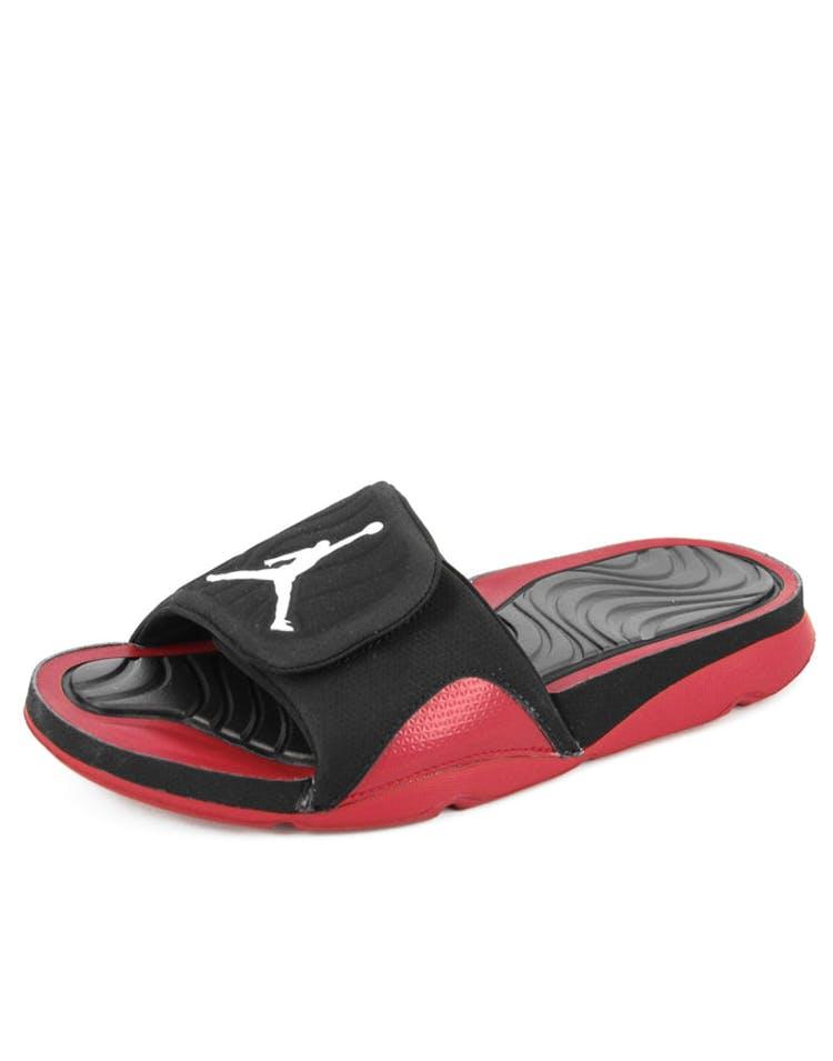 8b8c5af6fd4 Jordan Jordan Hydro 4 Black/white/red – Culture Kings NZ
