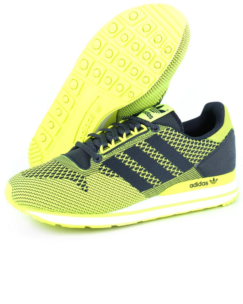ZX 500 OG Weave Yellow/navy