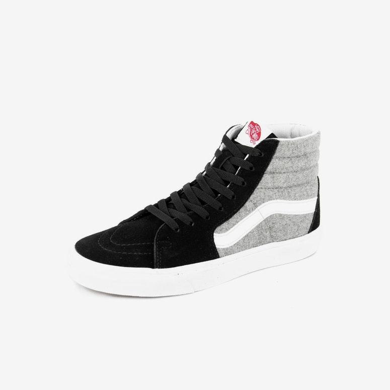 adaa67457d9 Vans Sk8-hi (wool Sport) Black grey – Culture Kings NZ